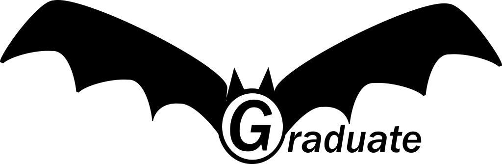 Graduate Bat-With-Red-Demon-Eyes